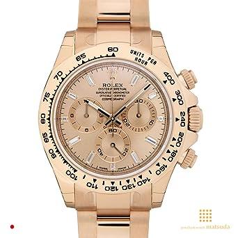 premium selection 222f6 f2876 Amazon | 【ロレックス】 ROLEX 腕時計 デイトナ エバーローズ ...