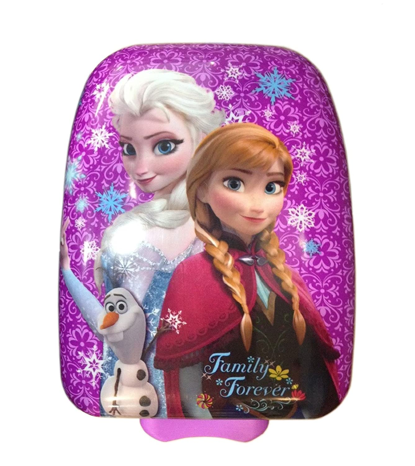 Amazon.com | Disney Frozen Anna & Elsa Hard Shell Rolling Luggage ...