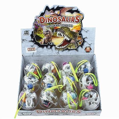 Amazon com: Binory 12pcs Painting Dinosaur Eggs Decorate Your Own