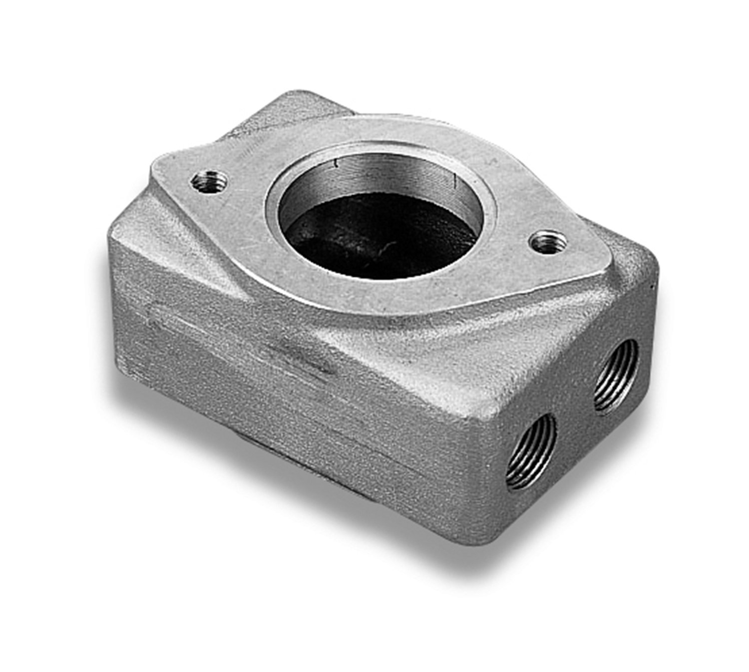 Weiand 7134 Supercharger Remote Water Outlet Housing by Weiand