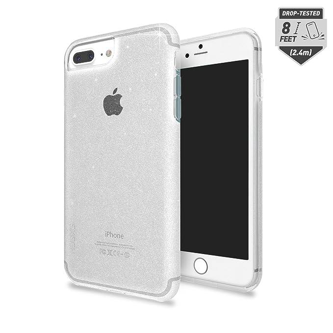 the best attitude 7ab4b 305c1 Skech Matrix Protective Clear Glitter Case for iPhone 8 Plus, iPhone 7  Plus, 6s Plus - Snow Sparkle
