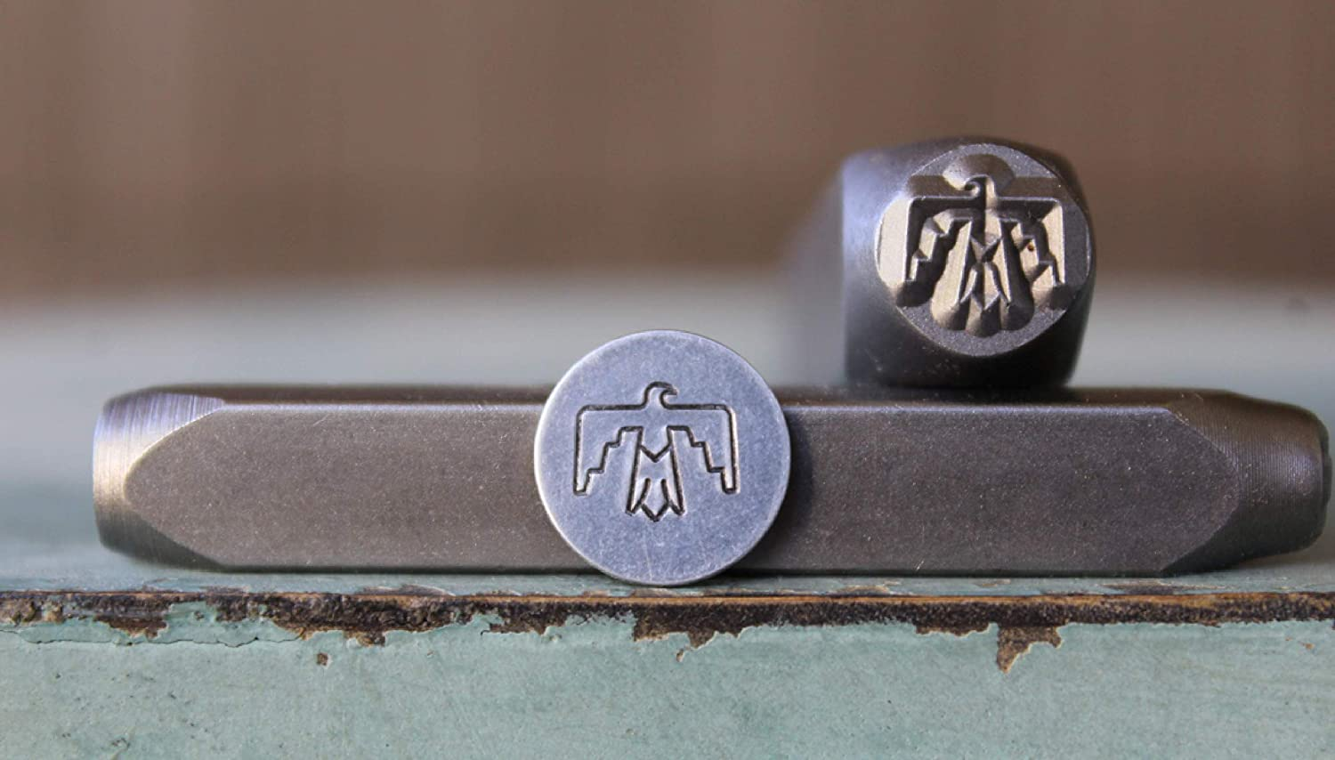Southwestern stamps Indian THUNDERBIRD Metal Stamp metal stamps metal stamping tools ImpressArt Native American protection symbol