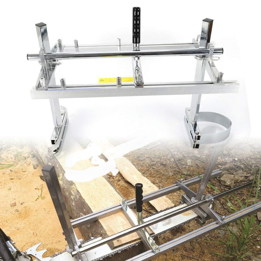 Savada Chainsaw Mill, Aserradero móvil Aserradero de madera para 14 ''a 24 '' Chainsaw Chainsaw Aserradero portátil Mill