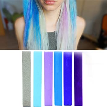 Amazon Com Lilac Blue Miley Cyrus Ombre Hair Color Sky Blue Hair