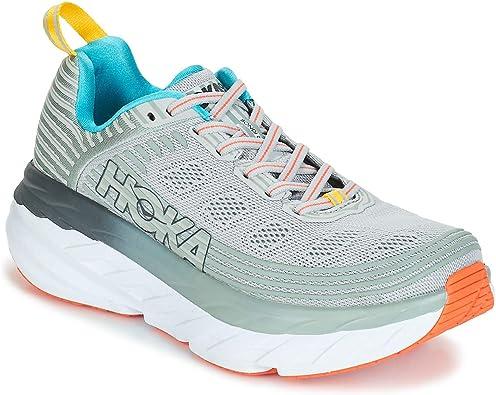 Hoka Bondi 6, Zapatillas de Running por Mujer, Gris (VaporBlue ...
