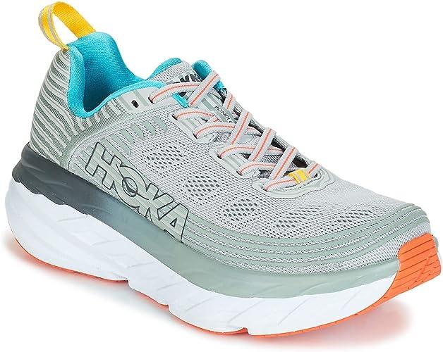 Hoka Bondi 6, Zapatillas de Running por Mujer, Gris (VaporBlue/WroughtIron VBWI), 41 1/3 EU: Amazon.es: Zapatos y complementos