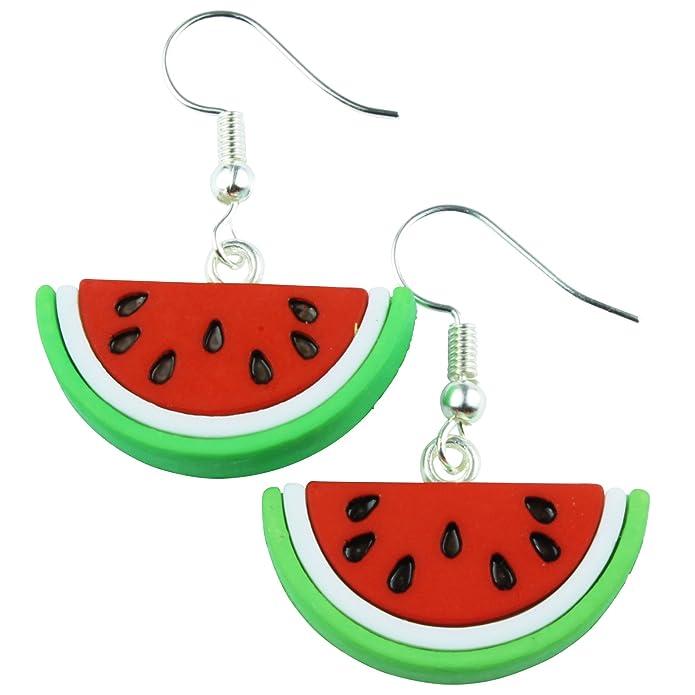 Luxury Charms Charming Snake Silver Bracelet Watermelon Fruit Collection Fresh Design BB212W cQv3hnTJz