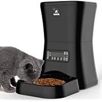HICTOP Automatic Pet Feeder | Auto Pet Dog Timed Programmable Food Dispenser Feeder for…