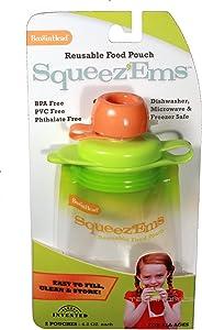BooginHead Squeez'Ems Reusable Food Pouches (2 Pouches)