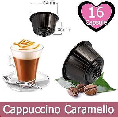 16 Cápsulas de Cappuccino Caramel Compatible Nescafe Dolce Gusto ...