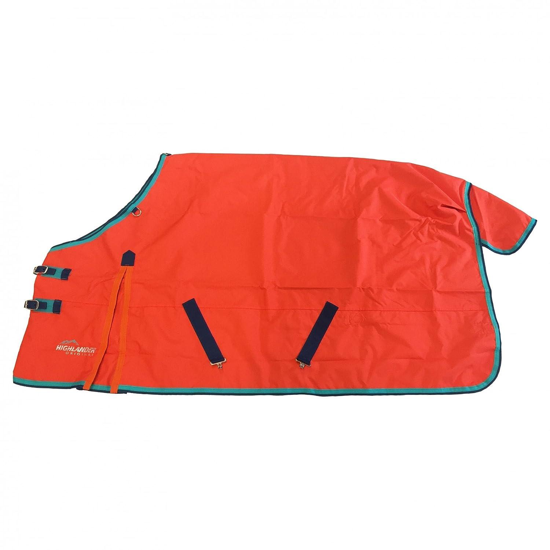 orange Aqua Teal 6ft3\ orange Aqua Teal 6ft3\ Shires Highlander Original Lite Turnout Rug Black Fuchsia