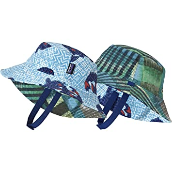 e3757bd3f77 Image Unavailable. Image not available for. Color  Patagonia Baby Boys  Sun  Bucket Hat ...