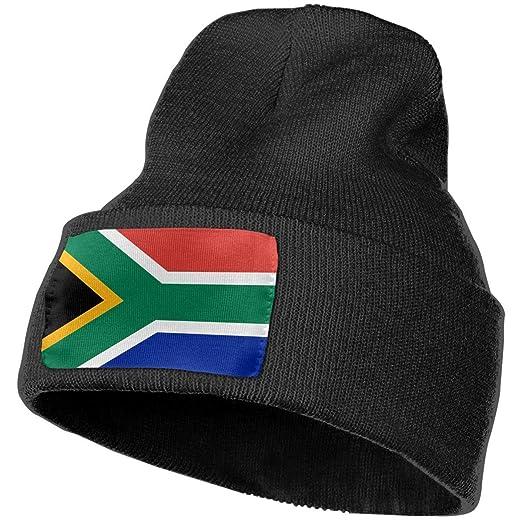 South African Flag Warm Knitting Hat Mens Womens b70042c7b79