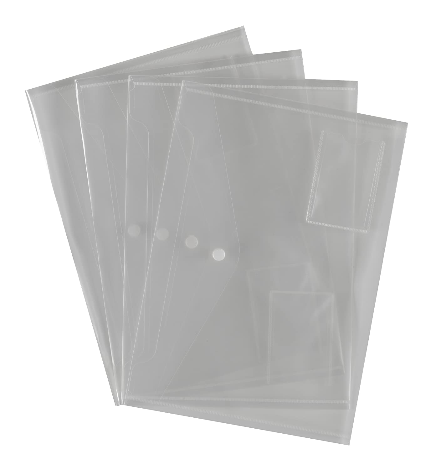 10 CLEAR LOGIT PLASTIC DOCUMENT WALLETS: Amazon.co.uk: Luggage