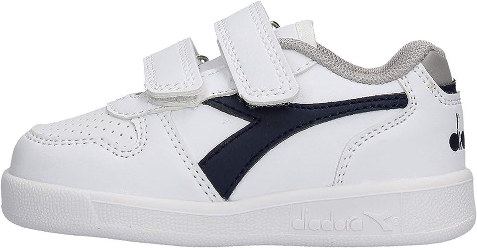 Diadora Playground TD Sneaker Bianca da Bambino 10173302 C1494