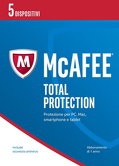 2 opinioni per McAfee MTP Total Protection 2017- 5 Dispositivi