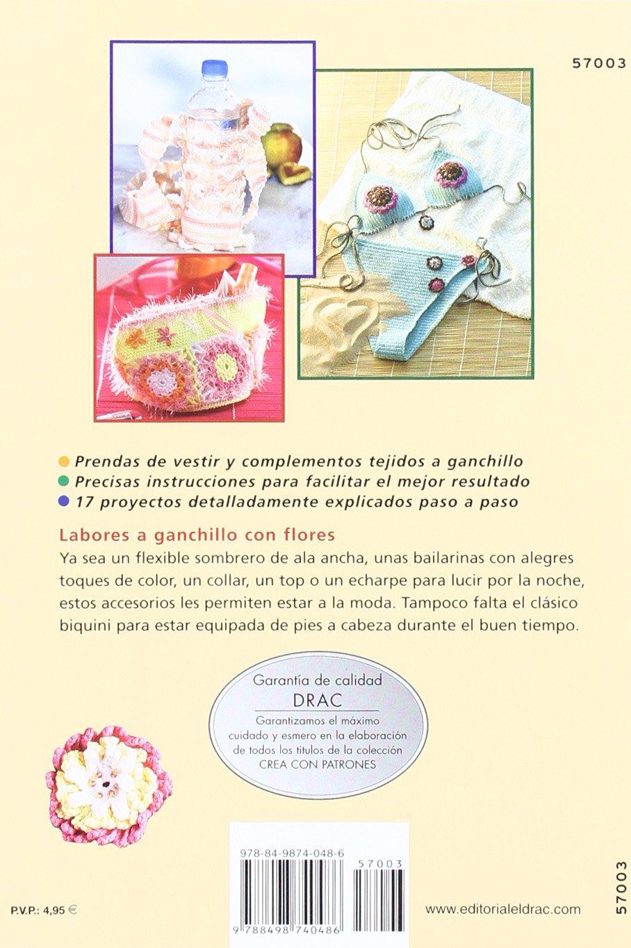 Serie Ganchillo nº 3. BISUTERÍA Y COMPLEMENTOS CON FLORES DE GANCHILLO Cp Serie Ganchillo drac: Amazon.es: Simone Raab: Libros