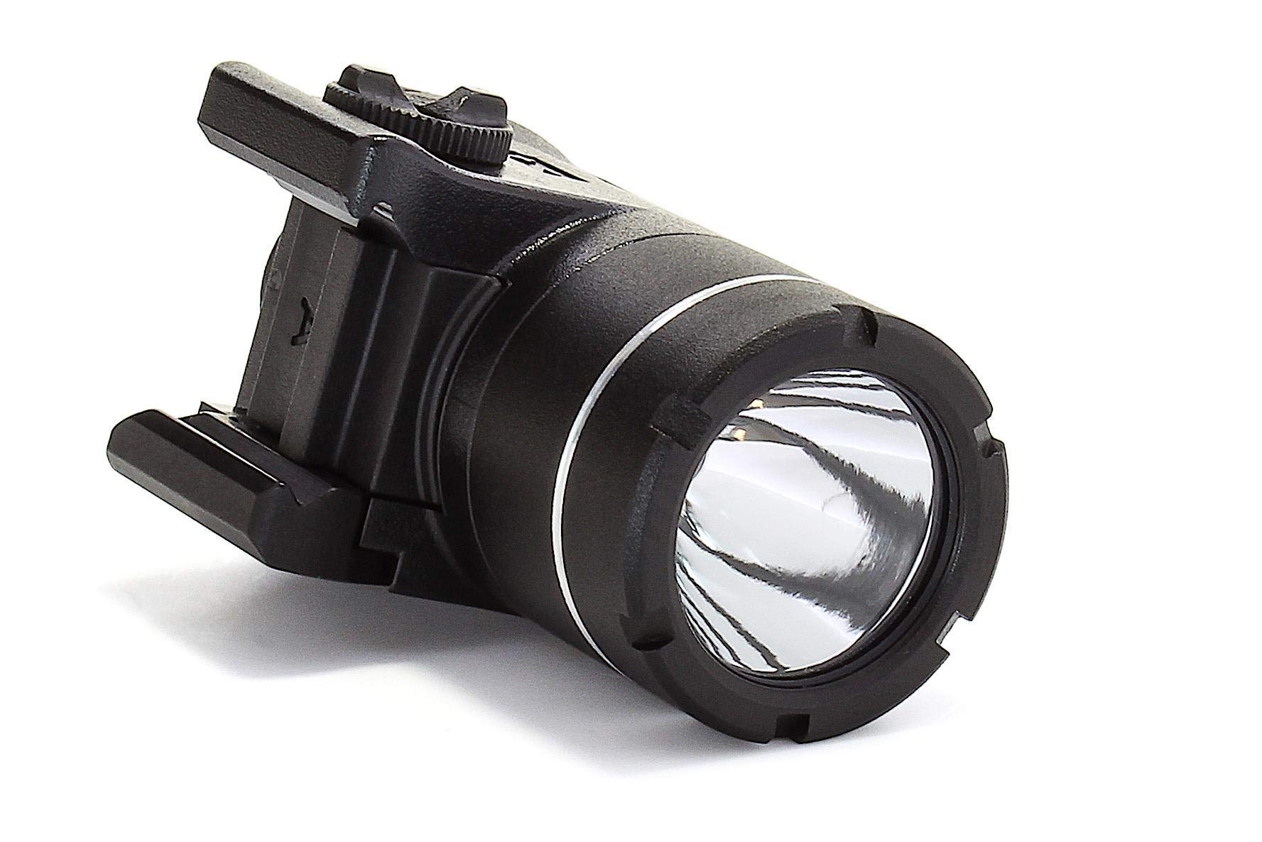 Streamlight 69245 TLR-4 Compact Rail Mounted Tactical Light with Integrated Green Laser and Wide Operating Range - 115 Lumens