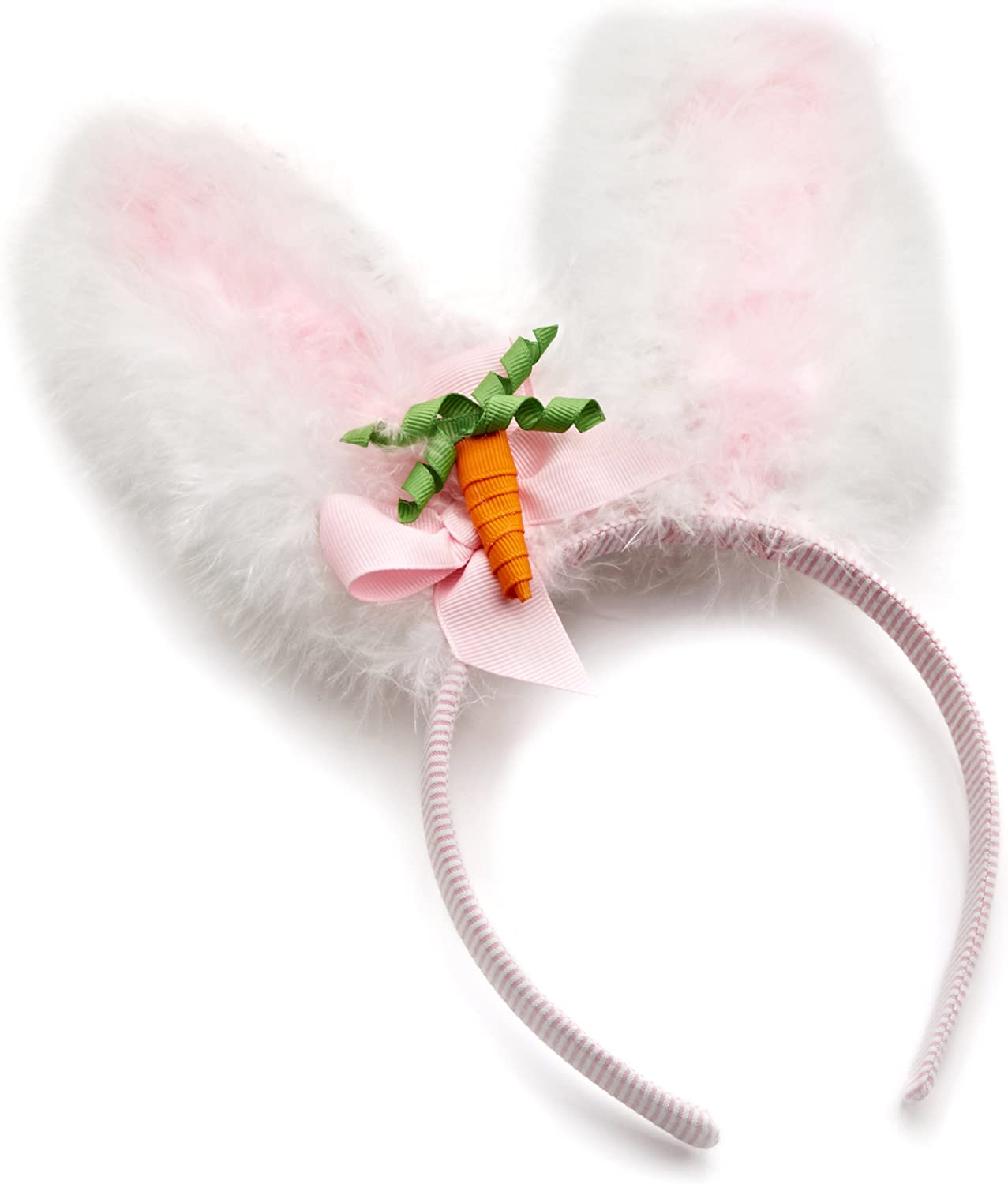 Handmade glitter bunny ears hair bow baby//girls Easter spring summer