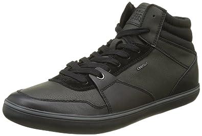 Geox U Box I, Sneakers Basses Homme, Noir (Black), 39 EU