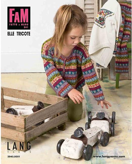 Lang Yarns FAM Fatto a Mano 207 Kids Strickheft mit Strickanleitungen