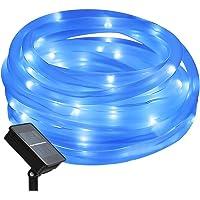 Portátil Manguera de luz solar luz cadena, 12m, 100ledes, resistente al agua IP65,…