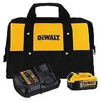 Deals on DEWALT 20V MAX Battery and Charger Kit