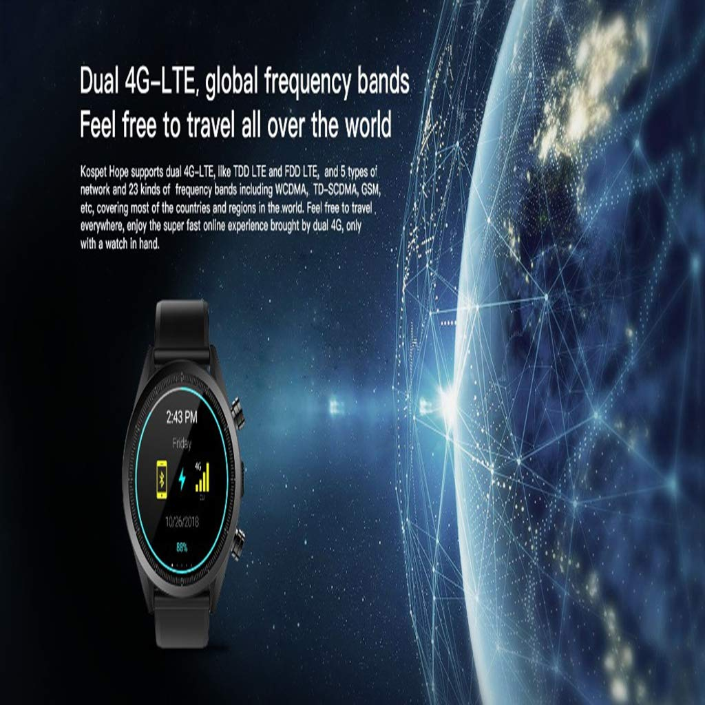 HHJEKLL Pulsera Inteligente Hope Smart Watch MTK6739 1.25GHZ ...
