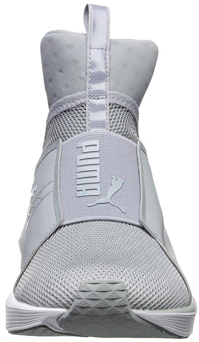 PUMA PUMA Women's Fierce core Cross Trainer Shoe, Quarry WhitePolyurethane, 8 M US from Amazon   ShapeShop