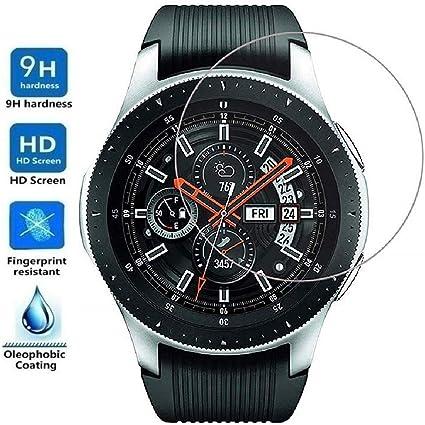Protector de Pantalla para Samsung Galaxy Watch 46mm 2018, Cristal ...