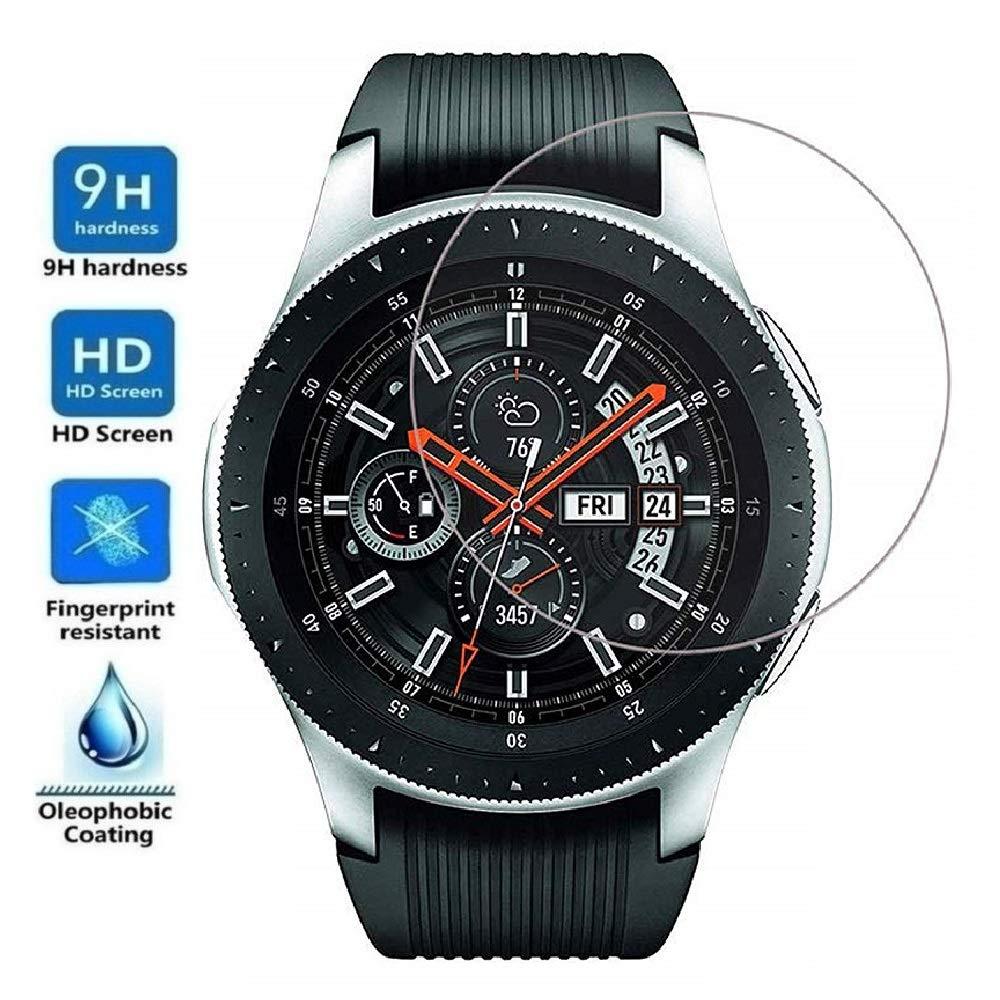 Protector de Pantalla para Samsung Galaxy Watch 46mm 2018, Cristal Vidrio Templado Premium: Amazon.es: Electrónica