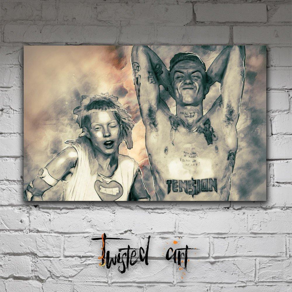 Amazon.com: Die Antwoord Yolandi Ninja Music Modern Abstract ...