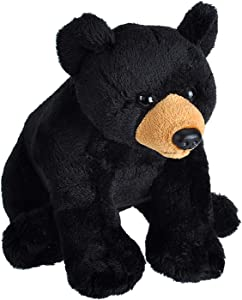 "Wild Republic Wild Calls Black Bear Plush, Stuffed Animal, Plush Toy, Kids Gifts, 6"""