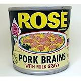 Rose Pork Brains Sampler - Two (2) 5 Ounce Cans