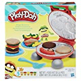 PD Play-Doh Burger Barbecue Play Set + Play-Doh
