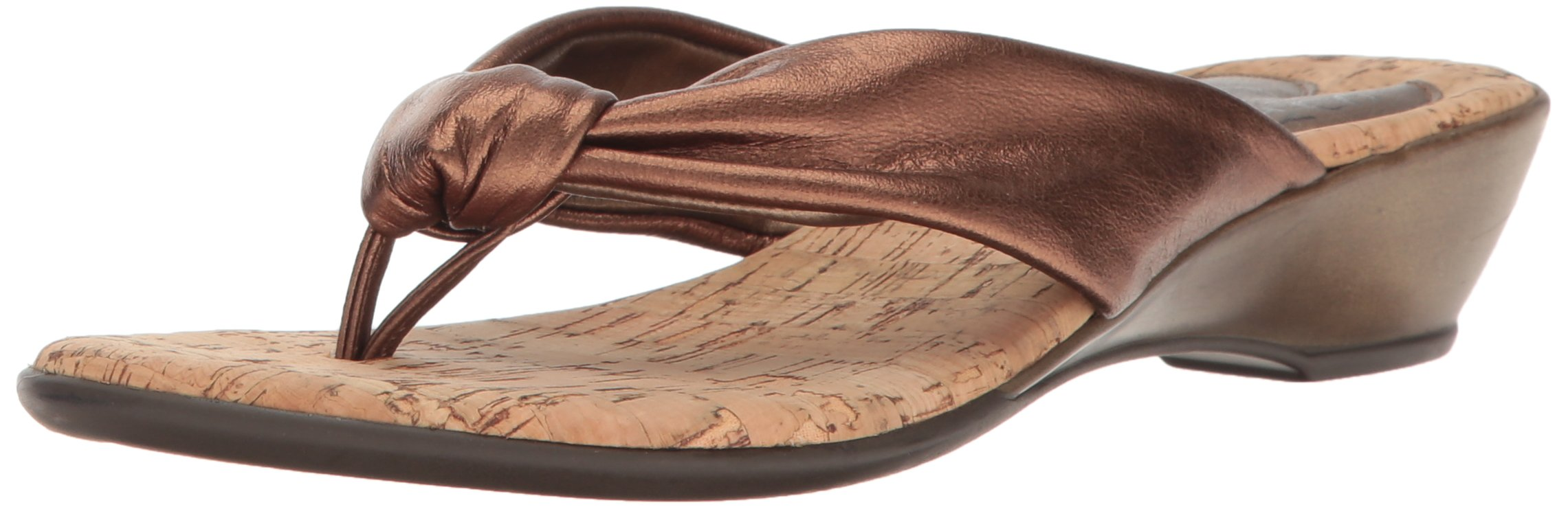 Love & Liberty Women's Janine-LL Dress Sandal, Bronze, 11 M US