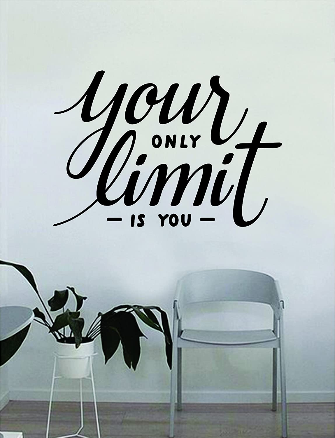 Amazoncom Your Only Limit Is You V2 Quote Wall Decal Quote