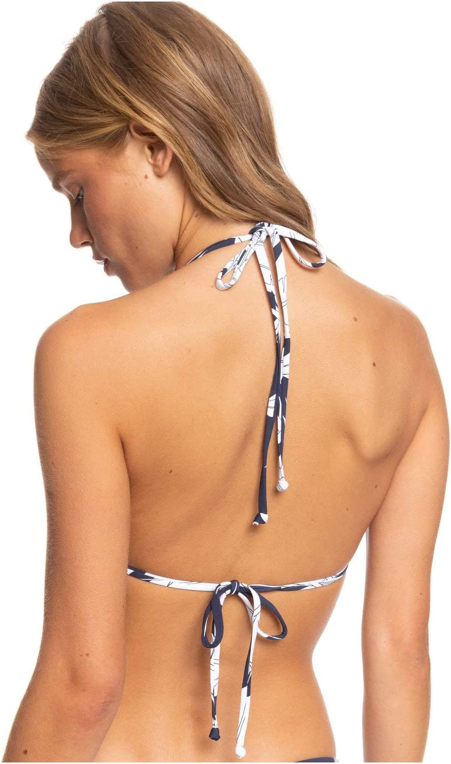 Roxy Womens Printed Beach Classics Tiki Tri Bikini Top
