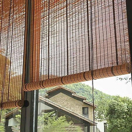 HWF Persiana Enrollable Cortinas Enrollables para Patio Al Aire Libre Persianas Exteriores Enrollables, para Porche Deck Balcony Pergola Trellis Carport, 85cm / 105cm / 125cm / 135cm Ancha: Amazon.es: Hogar