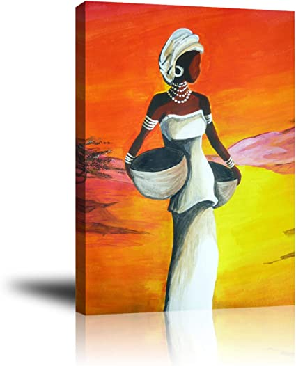 Premium Canvas Wall Art Prints White Elegant Woman Decor Photo Paintings Decorative Artwork For Bedroom Home Office Framed Ready To Hang 16 X 20 Posters Prints Amazon Com