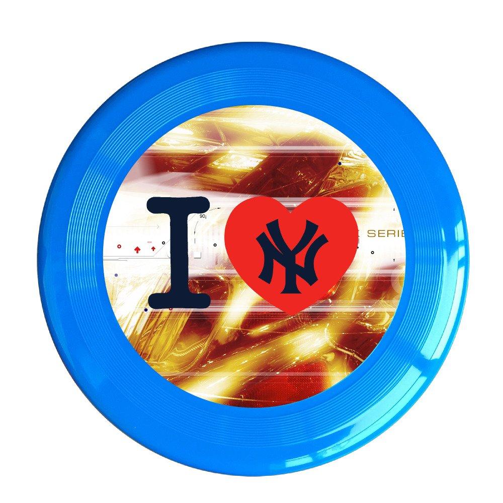 Kim Lennon NY The Yanks Custom Leisure Plastic Frisbee Colors And Styles Vary Yellow
