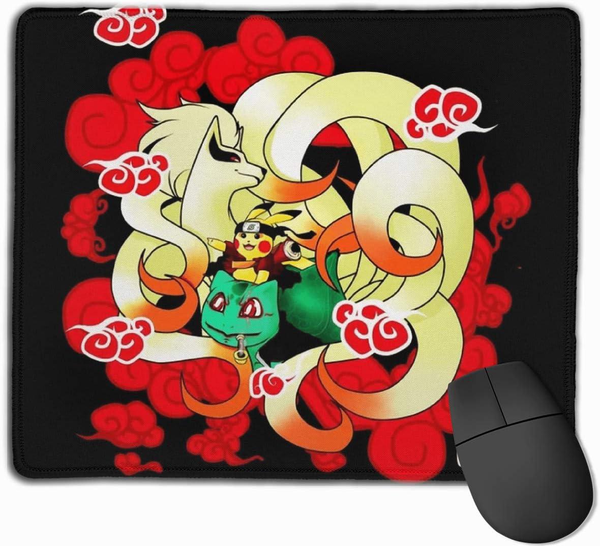 DAIPLY My Hero Academia Deku Profile Computer Laptop Mousepad Stitched Edge Gaming Mouse Pad 11.8x9.8