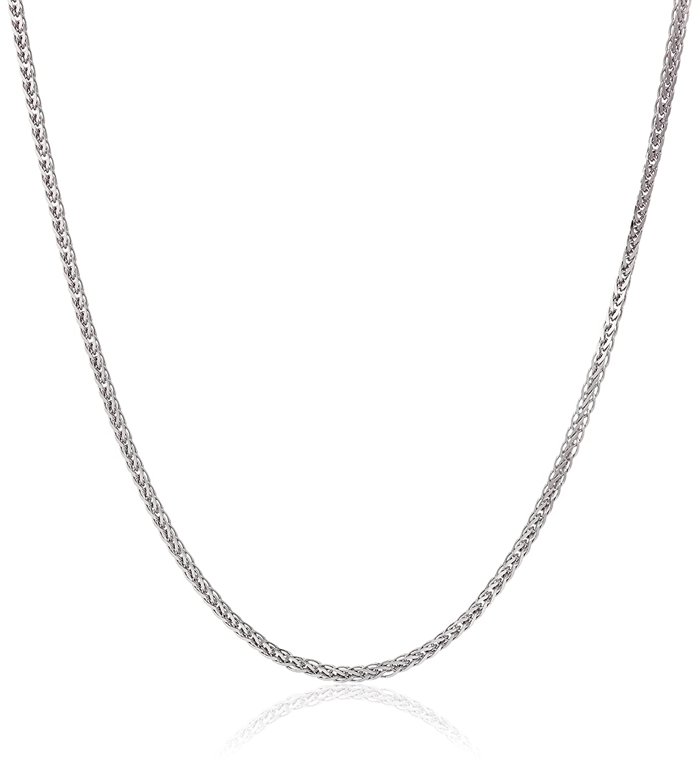 Italian Finest Jewelry Necklaces On Sale, White Gold, 18 kt White Gold, 2017, One Size
