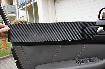 4er F32 F33 F36 ORIGINAL 3D CARBON ZIERLEISTEN SET f/ür den Innenraum Ihres Fahrzeuges 4er F32 F33 F36 15 teiliges Folienset aus 3D Carbon Schwarz Folie