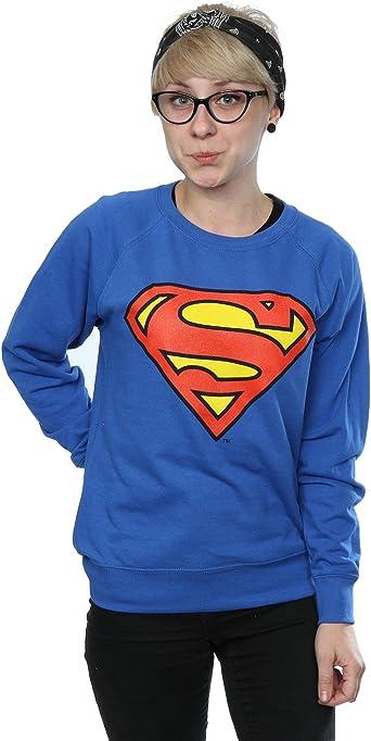 DC Comics mujer Superman Logo Camisa de entrenamiento: Amazon.es: Ropa y accesorios