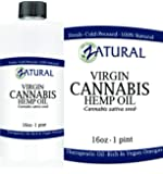 Zatural Hemp Oil Anti-Inflammatory_Pain Relief_100% Pure_Cold Pressed_High Vegan Omegas 3 & 6_No Fillers Or Additives, Therapeutic Grade 16 Ounce 1