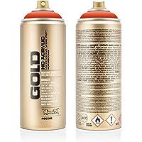 Montana Cans Red Orange Acrylic Spray Paint, 400ml
