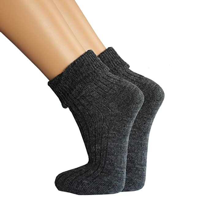 wow - Calcetines - para mujer Gris Anthrazit/Anthrazit: Amazon.es: Ropa y accesorios