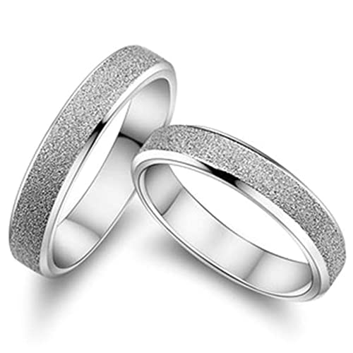 Amazon.com: Aokarry - Anillos de boda para hombre y mujer ...