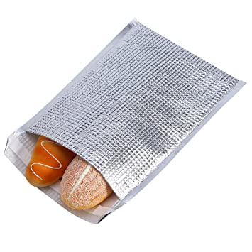 2ffb30821ad2 10pcs Insulated Sandwich Bags, Aluminum Foil Insulated Bag Pouch Packs  Snack Picnic Bags Insulated Thermal Bag Large Food Storage Bag Thermal  Cooler ...